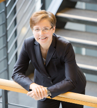 Videokonferenz statt Dienstreise zu kurzen Sitzungen schlägt Heike Taubert als Beitrag zum Klimaschutz vor.